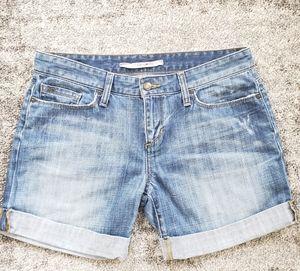 Joe's Jeans Rolled Denim Shorts Winset Wash Sz 27
